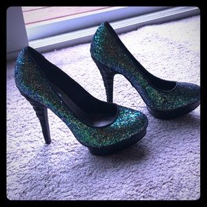 Beautiful sparkly Stiletto heels